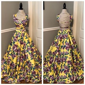 NEW RACHEL ALLAN TWO PIECE BALLGOWN WITH POCKETS